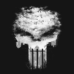 Punisher War Zone T-Shirts India Funny Quotes T Shirts Online Shopping Graphic Funky Printed Cool Tees For Mens Slogan Womens Clothing Casual Round Neck