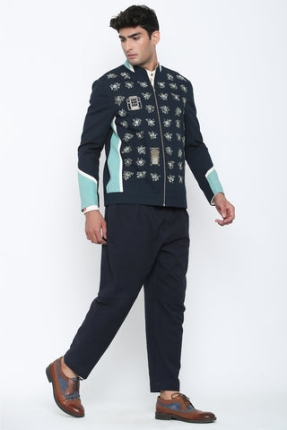 SHORT BANDHGALA JACKET
