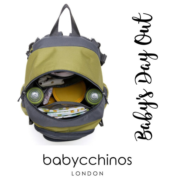Baby's Day Out - A complete guide on what you need for a day out with the baby