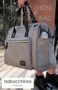 Introduction to Changing Bags – How to choose the right changing bag for you