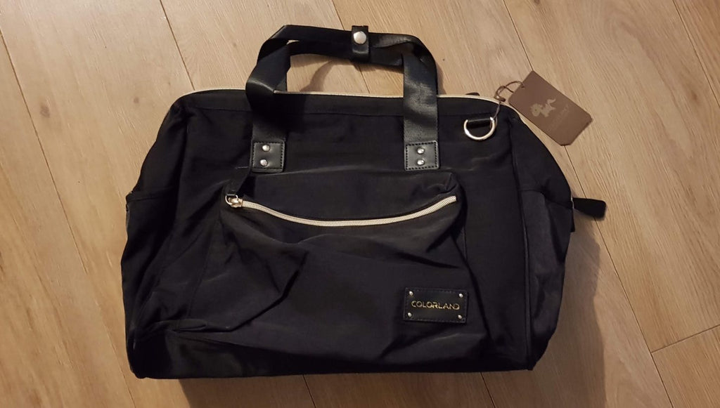 REVIEW: Large Duffel Changing Bag – Deep Black