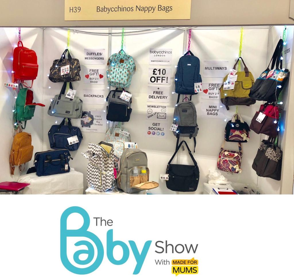 Babycchinos Stand at the Baby Show London Olympia
