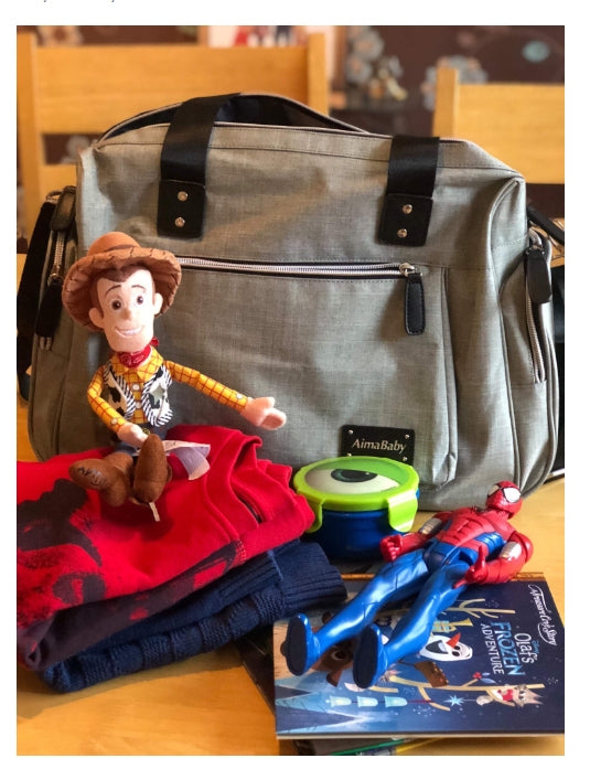 Fraser's Fun House Babycchinos Changing Bag Review