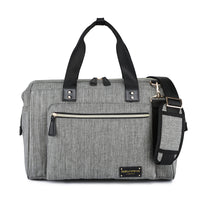 """Baby Sussex"" Changing Bag - Duffel / Messenger - Unisex Grey"