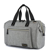 "Babycchinos ""Signature"" Changing Bag - Duffel / Messenger - Unisex Grey"