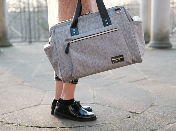 """Baby Sussex"" Changing Bag - Duffle / Messenger - Unisex Grey"