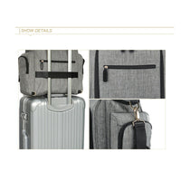 Large Multiway Changing Bag – Grey