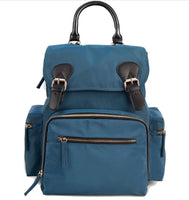 Medium Drawstring Rucksack Changing Bag - Teal