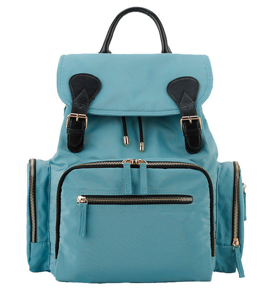 Medium Drawstring Rucksack Changing Bag - Blue
