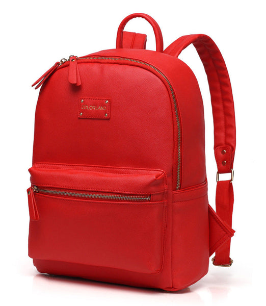 Medium Rucksack Changing Bag by Colorland - Red