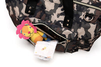 Large Duffel Changing Bag – Camouflage with Black Handles