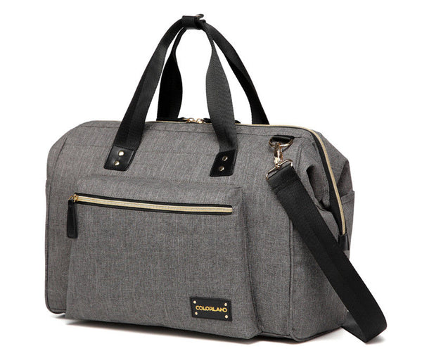 Large Duffle Changing Bag – Grey