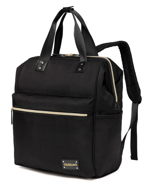 Large Backpack Changing Bag – Black