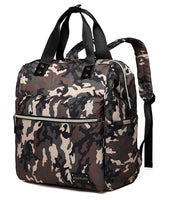 Large Backpack Changing Bag – Camouflage