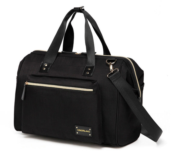 Large Duffle Changing Bag – Deep Black