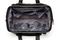 Large Duffel Changing Bag – Deep Black