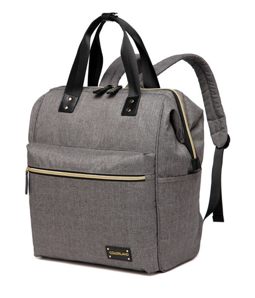 Large Backpack Changing Bag – Grey
