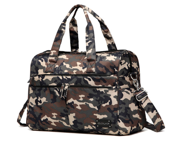 Large Duffle Changing Bag – Camouflage