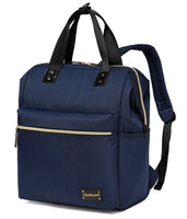 Large Backpack Changing Bag – Navy Blue