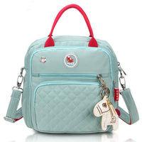 Mini Cross-Body Changing Bag - Mint Green
