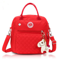 Mini Cross-Body Changing Bag - Hot Red