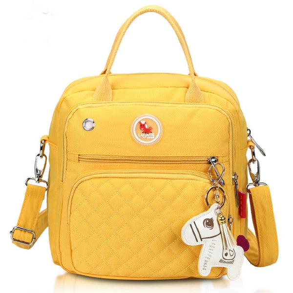 Mini Cross-Body Changing Bag - Sunshine Yellow