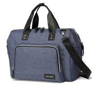 Large Messenger Changing Bag – Denim Blue