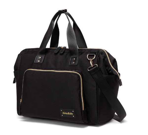 Large Messenger Changing Bag – Black