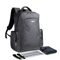 Large Rucksack Changing Bag - Light Grey