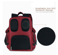 Large Rucksack Changing Bag - Maroon
