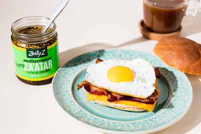 New York Style Za'atar Breakfast Sandwich