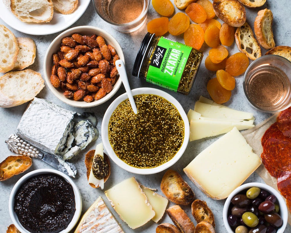 Epic Mediterranean Za'atar Cheeseboards For Any Occasion