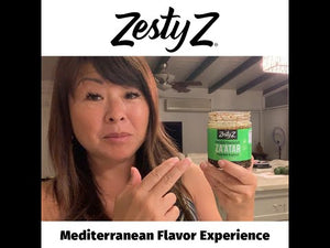 Load and play video in Gallery viewer, Spicy Za'atar & Olive Oil
