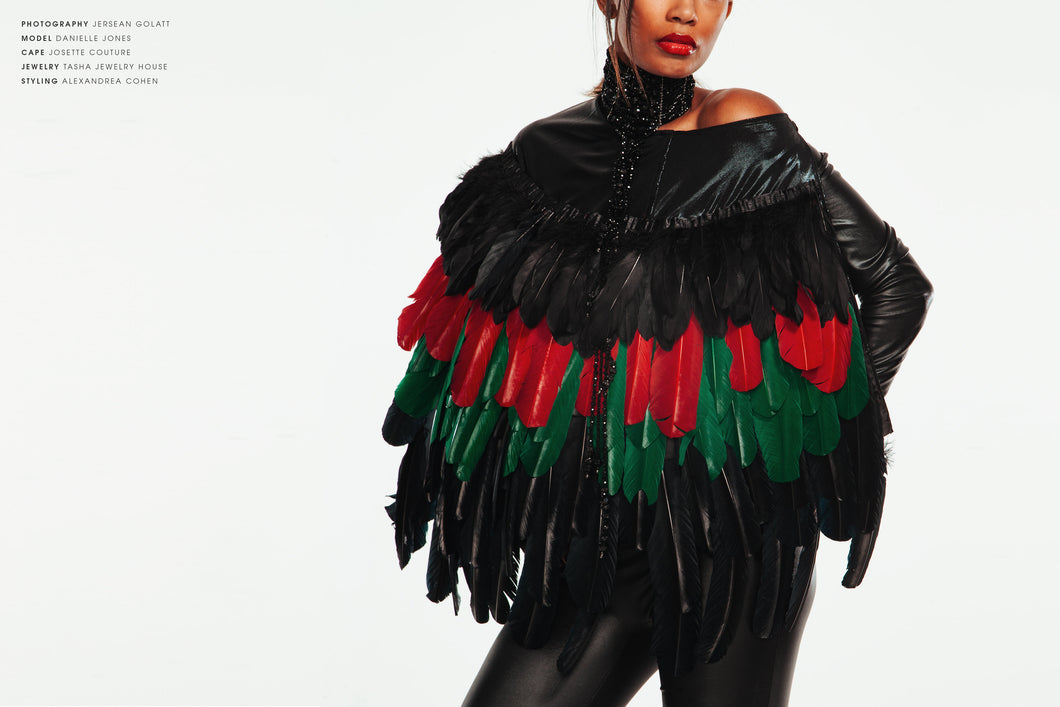 Feather Cape The Mother Land