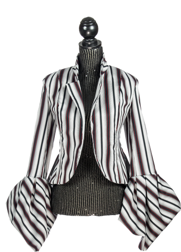 Cotton Stripped Jacket