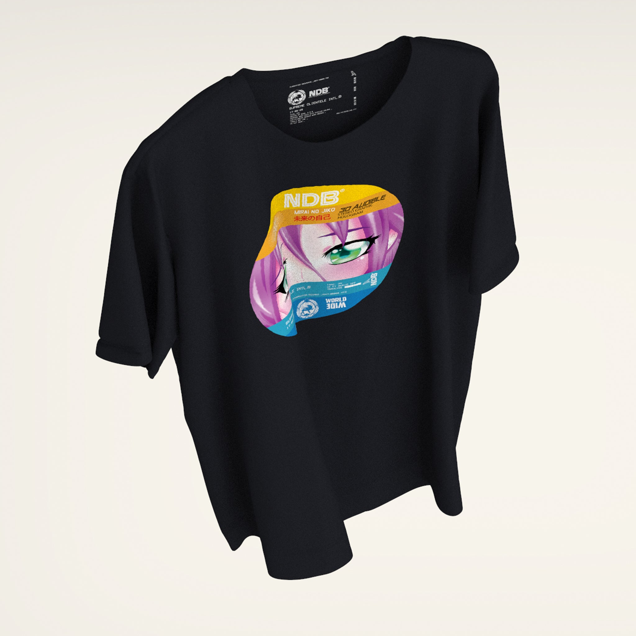 AniMax Holographic media T-shirt