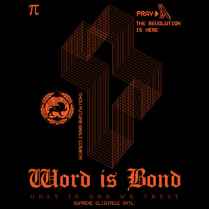 Word Is Bond T-shirt