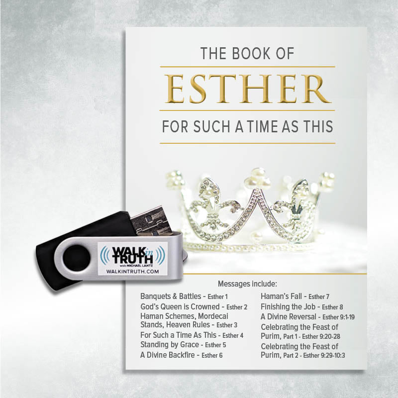 The Book of Esther - USB Drive