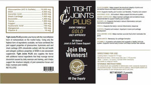 Tight Joints Plus Gold - Show Formula USEF Approved - 2LB