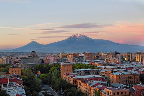Mount Aratat view from Yerevan