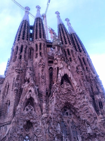 Sagrada Familia Church by Gaudi