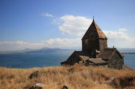Khor Virap Monastery on Lake Sevan