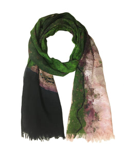 Cairo, Egypt map print scarf in silk. Perfect gift or souvenir for women and men.