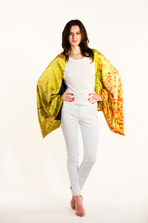 Chicago Gold Sleeve Scarf/Shawl/Top