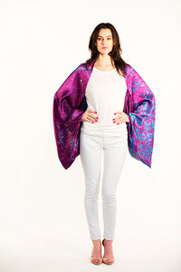 Chicago Purple Sleeve Scarf/Shawl/Top