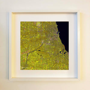 Chicago (gold) Framed
