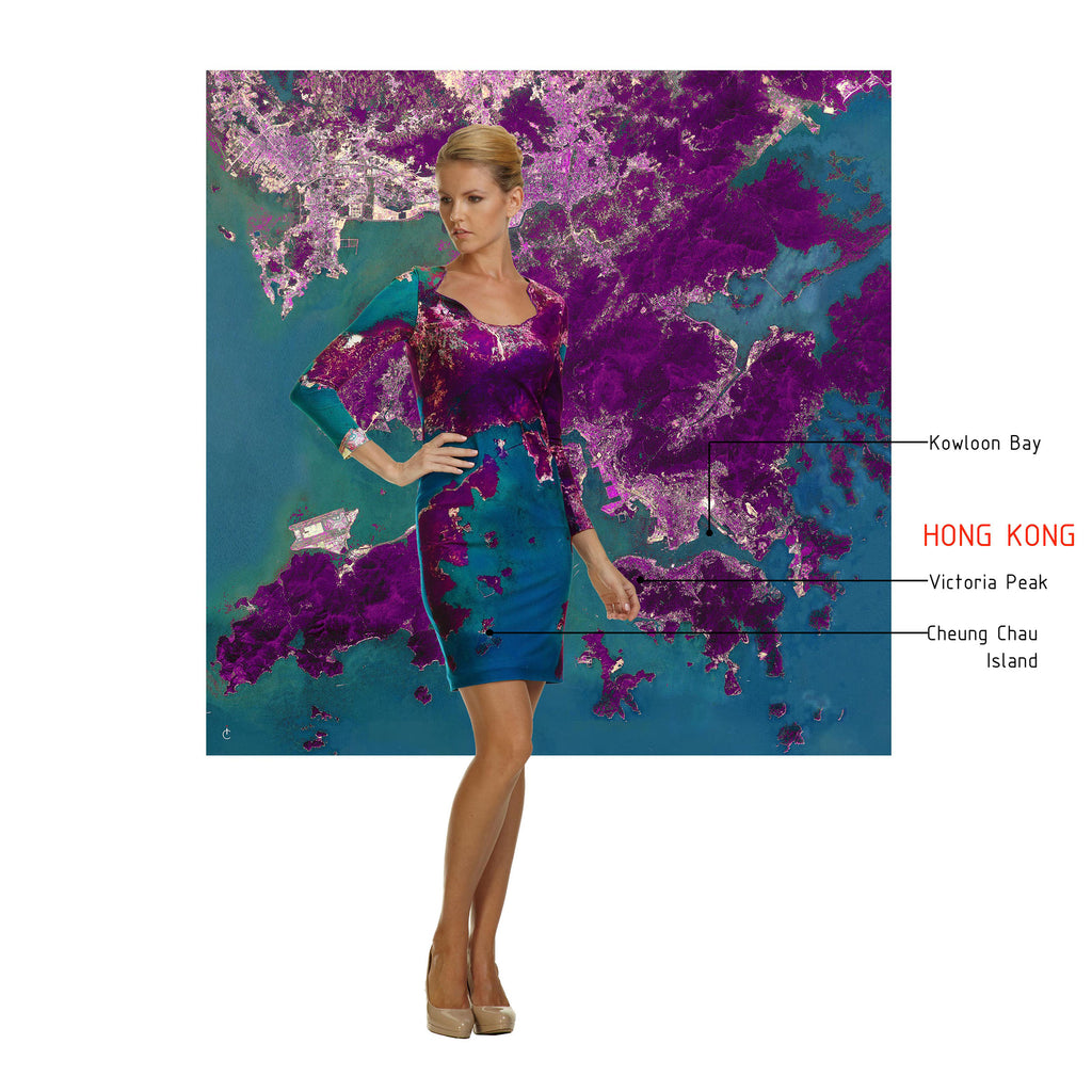 Hong Kong cocktail dress