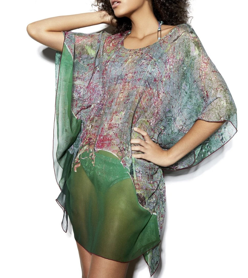 Los Angeles Silk Kaftan/Caftan