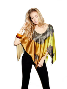 San Francisco Silk Poncho