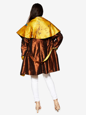 Reversible Yazd Cape Coat
